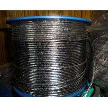 Fibre de graphite agrandie pour l'emballage de presse-étoupe de tressage