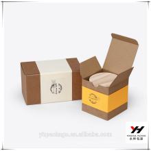 2018 En gros Pas Cher Prix Kraft Personnalisé Logo Emballage Boîte De Papier
