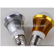 Shenzheng 3w 3leds llevó los bulbos de lámpara ligeros e26 / b22 / e27 llevó la bombilla de la iluminación