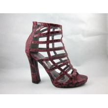 New Style Knöchel High Heel Damen Kleid Stiefel (HCY03-066)