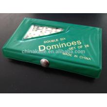 Mini Domino game pvc set