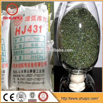 Quality-Assured AWS A5.17 EB2 HJ431 Wholesale Submerged Welding Flux