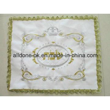 Изготовление Фабрика изготовленного на заказ еврейского Silk вышитого крышки хала