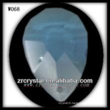 Drop, Face Cut Crystal Beads W068