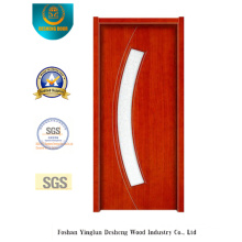 Simplestyle Security Steel Door with Glass (s-1027)