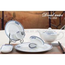 wholesale italian ceramic dinnerware set , round dinner plate