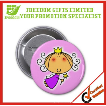 Tin Plate logo Customized Hot Sale Badge Buttons