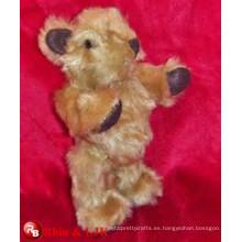 OEM suave ICTI juguete de peluche fábrica hecha a mano de peluche de juguete oso