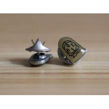 Insignia personalizada de la manera insignia del perno de la solapa del metal con el esmalte suave
