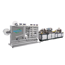 Medical Disposable kn95 n95 kf94 kf99 Full Automatic 4ply FaceMask Making Production Mask Machine