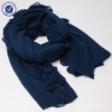 Pure cashmere corrugated scarf SWC881 knitting cashmere shawl and scarf wholesale