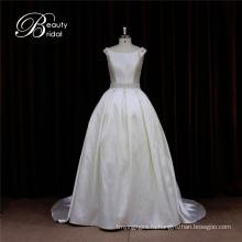 OEM очаровательной довольно Микадо свадебное платье