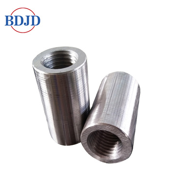 45 Carbon Steel Paralel Thread Rebar Coupler