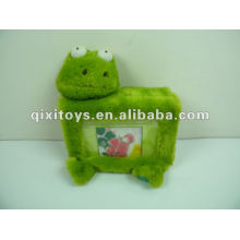 stuffed and plush frog photo album