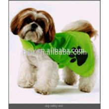 Reflective yellow Pet safety vest