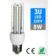 3u forma 5W luz LED