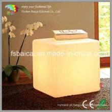 Moderna Aparência LED Cube Light / Chair