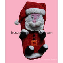 Knitted Christmas Stocking Socks (DL-CR-19)