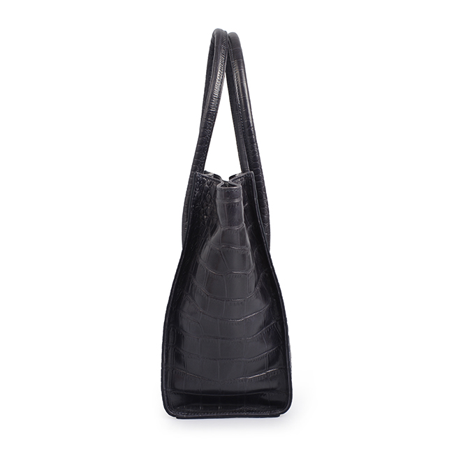 high quality fashion crocodile pattern women tote leather bag