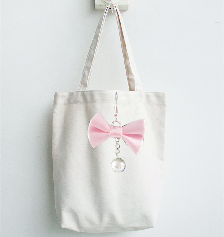 canvas handbag with Accessories