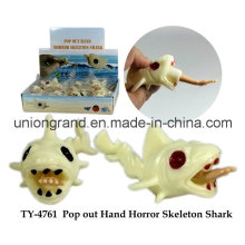 Pop out Hand Horror Skeleton Shark