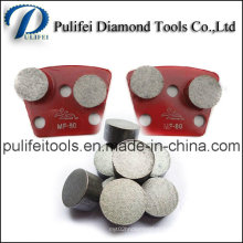 Бетонный пол шлифовальный Алмазный инструмент сегмент шлифовальный для металла площадку