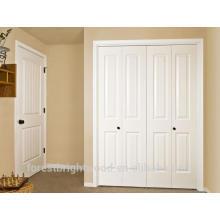 Internal wood closet door folding door design