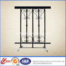 Beautiful Practical Residential Wrought Iron Fence (dhfence-28)