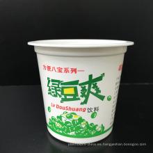 Contenedor de comida desechable de plástico 315ml Congelador seguro