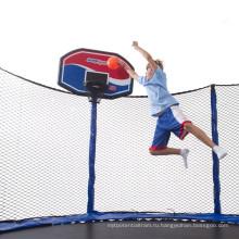 CE, TUV Safety Trampoline с баскетбольными обручами