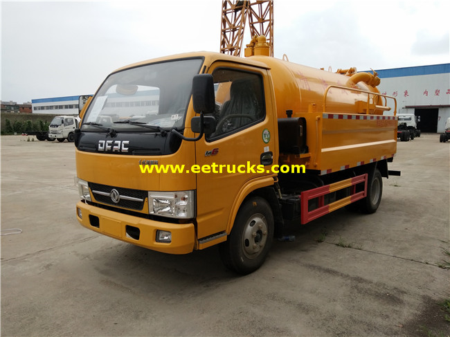 2500L 130HP Sewer Cleaning Trucks