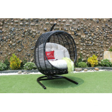Best selling Synthetic rattan Round shape Swing Chair - Hammock Garden Outdoor furniture