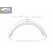 Herstellung heißen Verkauf SUNUV SUN9X Gel Uv führte schnurlose Nagellampe mit 15pcs Perlen 24W Nageltrockner für die Heilung von Händen und Füßen
