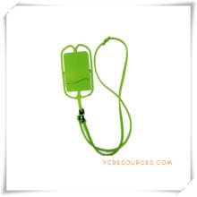 Soporte del teléfono celular para regalos promocionales, caso de la honda para el teléfono móvil