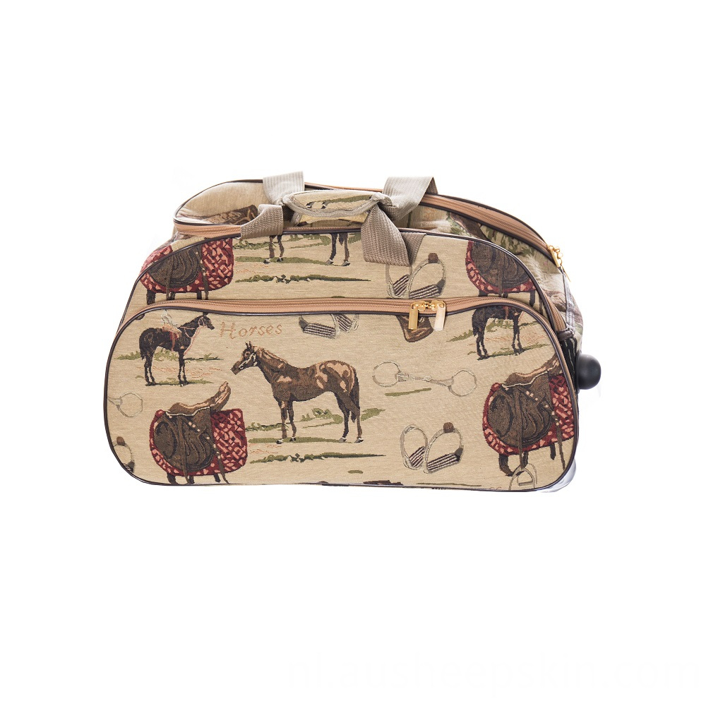 Multifunction Hand Bag With Wheels