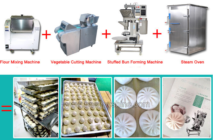 steam buns machine