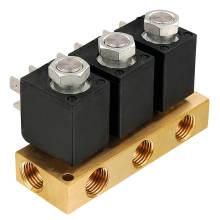 Magnetventil Ventil Krümmer für Maschine (SB162)