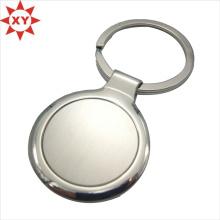 Круглая форма Брелок из нержавеющей стали с кольцом для ключей (ху-mxl91004)