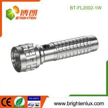 Fabrik Großhandel 3 * AAA Zelle betrieben Handheld Gehäuse Notfall 1watt Cree führte Aluminium Taschenlampe