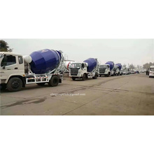 Hydraulic pump 6m3 cement mixer truck