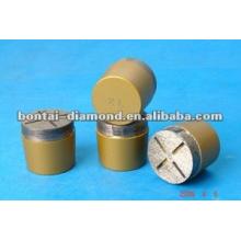 Diamond rough grinding plug