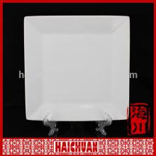 Plato de mantequilla de porcelana blanca personalizado