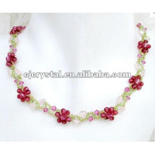 Glass craft necklace