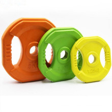 Crossfit Rubber Coated Cast Iron Square Weight Plate (1.25kg, 2.5kg, 5kg)