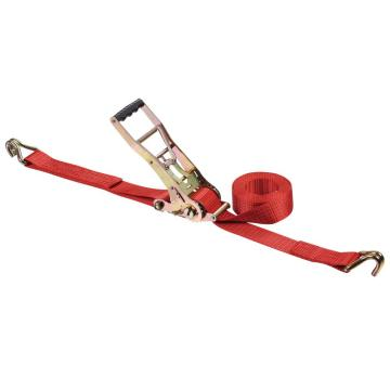 2 Inch Double Security Lock Polyester Ratchet Sjorriem