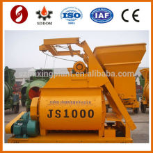 Twin Shaft and Electric Cement Mixer JS1000