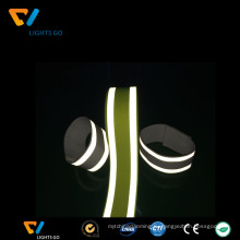 привет ВИС светоотражающие полиэстер развевали webbing ленты нейлона тесемки светоотражающие ленты