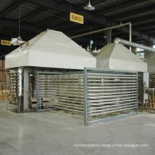China plywood production line hot press machine