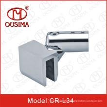 Adjustabel acessório de chuveiro de aço inoxidável conector de tubulação