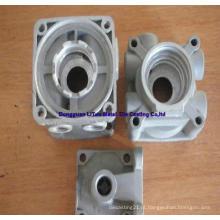 Peça de fundição de liga de alumínio para caixa do motor